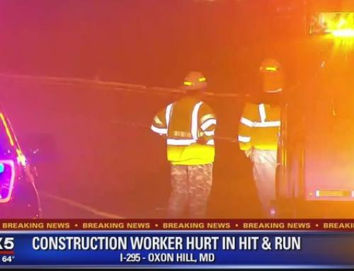 Construction Worker Critically Injured in I-295 Hit-and-Run